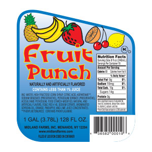 Fruit Punch - Gallon