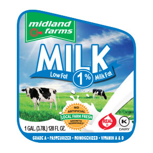 Low Fat Milk - Gallon