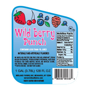 Wild Berry Punch - Gallon