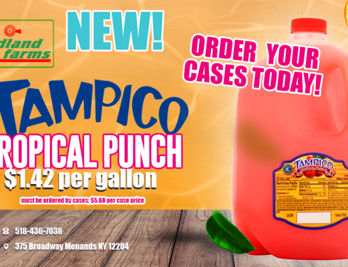 New Product at Midland Farms – Tampico Tropical Punch!